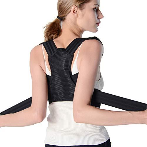 Corrección de postura, soporte recto para corrección de postura, soporte para columna vertebral y espalda – Alivia los dolores de cuello, espalda y hombros – para hombres y mujeres,XL ✅