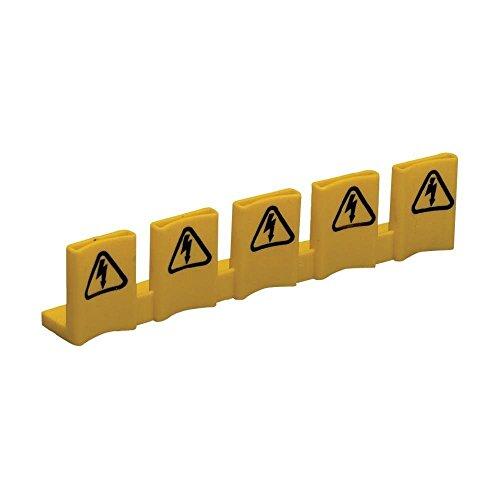 ABB Stotz S&J 4016779420006 - Tappi di protezione tattile SZ-BSK, 5 pezzi, sistema pro M compact, accessori per circuiti a bassa tensione