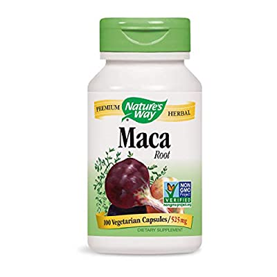 Maca Root, 525 mg, 100 Capsules - Nature's Way from Nature's Way