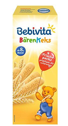 Bebivita Bärenkeks, 9er Pack (9 x 180 g)