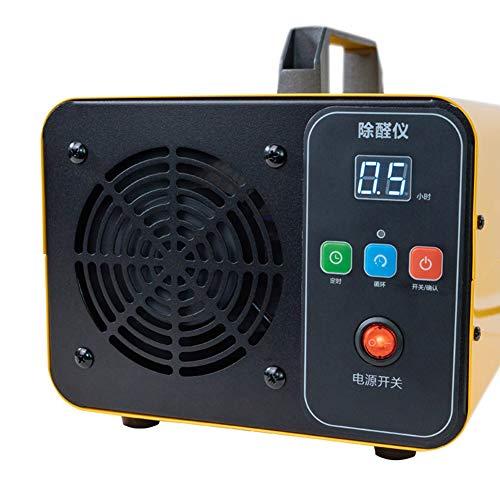 JXXZYH Generador de ozono Comercial, máquina de ozono portátil, desinfección y desodorizador de purificador de Aire, Adecuado para Interiores, hogares, oficinas y Barcos.