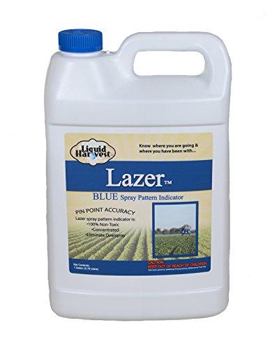 Liquid Harvest 118 Lazer Blue Concentrated Spray Pattern Indicator, Gallon, Blue, 1