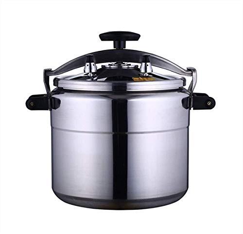 Cocina de presión de aleación de aluminio comercial, cocina de presión de gran capacidad, cocina profesional a prueba de explosiones, diseños de seguridad múltiple, especificaciones múltiples opcional