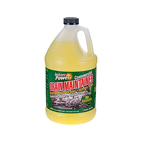 Instant Power 1510 Commercial Drain Cleaner, 1-Gallon