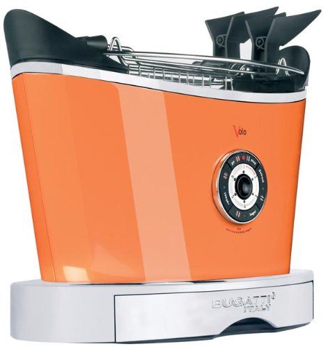 Bugatti VOLO - 2 Slice Electronic Toaster Orange