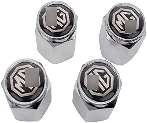 4 tapones de válvula de neumático de automóvil utilizados para tapones de aire a prueba de agua y polvo de la válvula de automóvil M-G