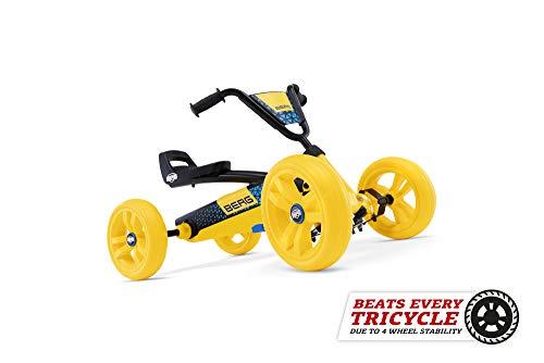BERG Gokart Buzzy BSX | Kinderfahrzeug, Tretauto, Sicherheid und Stabilität, Kinderspielzeug geeignet für Kinder im Alter von 2-5 Jahren