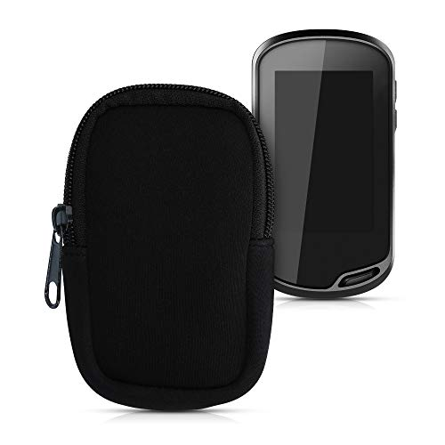 kwmobile Tasche kompatibel mit Garmin Oregon 700 / 750t - GPS Handgerät Neopren Hülle - Schutzcover Navi Schwarz