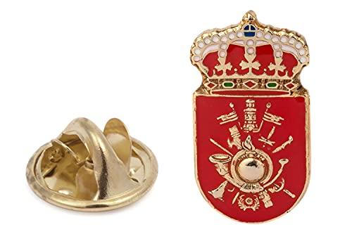 Gemelolandia   Pin de Solapa Academia General Militar de Zaragoza 20x10mm   Pines Originales Para Regalar   Para las Camisas, la Ropa o para tu Mochila   Detalles Divertidos