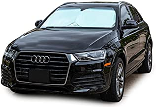 Car Windshield Sun Shade - Blocks UV Rays Sun Visor Protector, Sunshade To Keep Your Vehicle Cool And Damage Free,Easy To Use, Fits Windshields of Various Sizes