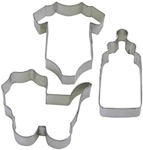 3 Al sold out. OFFer Piece Baby One Jumpsuit Bottle Cutter - Cookie Carriage