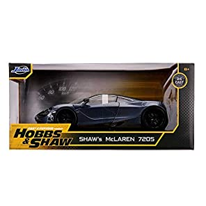 JADA TOYS ミニカー 1/24サイズ FAST & FURIOUS SHAW'S MCLAREN 720S HOBBS & SHAW