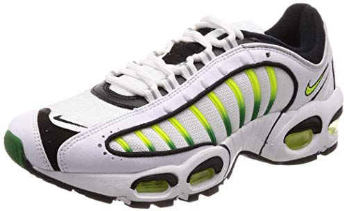 Nike Herren Air Max Tailwind Iv Leichtathletikschuhe, Mehrfarbig (White/Volt/Black/Aloe Brown 000), 42 EU