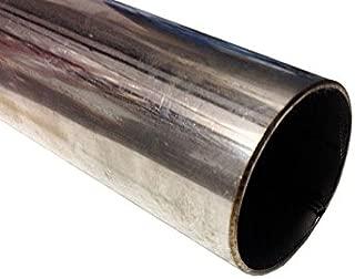 0,5/m Tubo de acero inoxidable 70/mm de di/ámetro x 500/mm V2/A Tubo de escape Tubo de acero inoxidable 1.4301