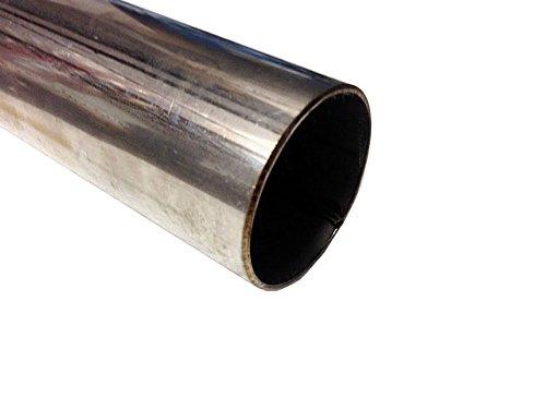 Tubo de acero inoxidable T304 de 250 mm x 63 mm de sección (1,5 mm de pared)
