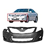 MBI AUTO - Primered, Front Bumper Cover Replacement Fascia for 2010 2011 Toyota Camry Sedan 10 11, TO1000357