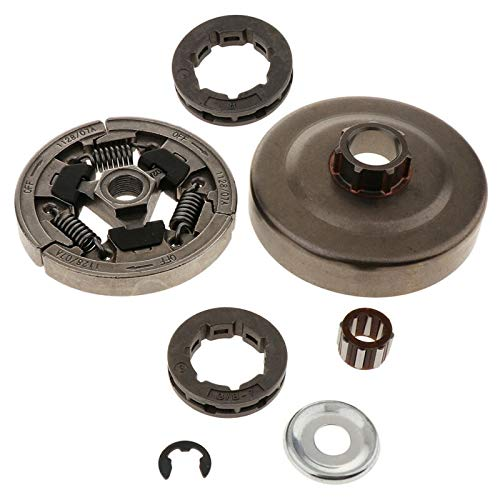 Kyt-my 3/8-Zoll-7-Zahnkupplung Drum Sprocket Kit passend for 036 MS360 Kettensäge Outdoor Power Equipment Kettensäge Teile ACCS