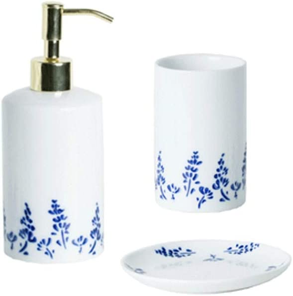 Oakland Mall YHYH soap Dispenser 3 or 4 Dispe Ceramic of Max 53% OFF refillable Sets