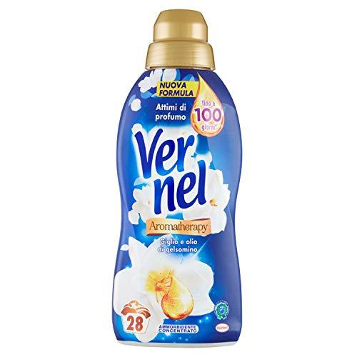 Vernel Vernel Irresistible jazmín, suavizante concentrado para lavadora, sensación de perfume como recién lavado, 700 ml – 700 ml
