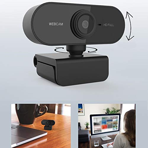 EmNarsissus Webcam with Microphone Full HD 1080P Streaming Camera for PC MAC Laptops Video Recording Web Camera