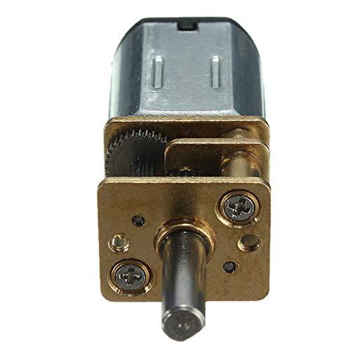N20 DC 6V 200RPM Micro Speed Rad Motor Getriebemotoren DIY Modellbau