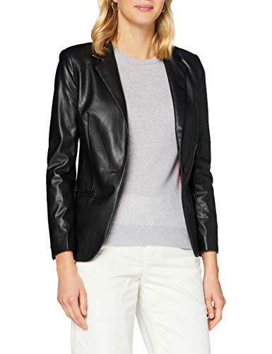 Sisley Jacket Giacca, Schwarz 100, 52 Donna