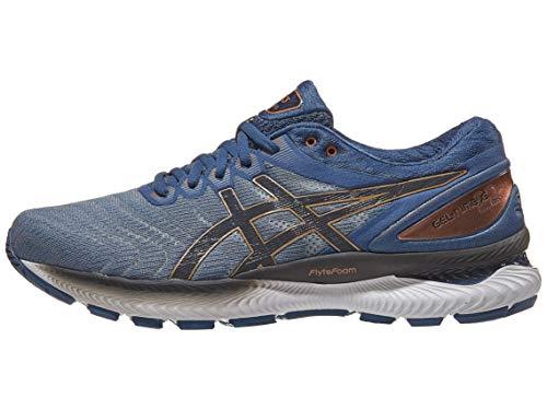 ASICS Men's Gel-Nimbus 22 Shoes, 10.5M, Glacier Grey/Graphite Grey