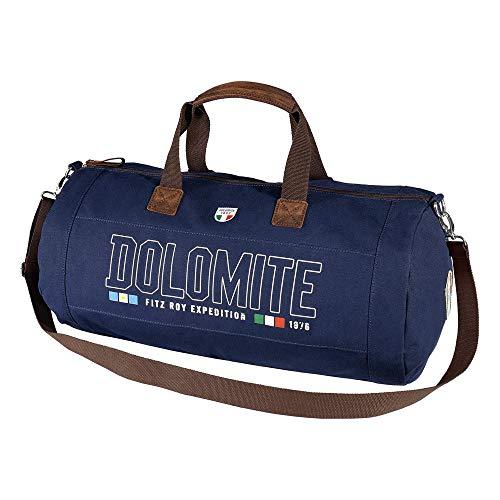 Dolomite Sac Sessanta Canvas Duffle Sport Mixte Adulte, Bleu, Taille Unique