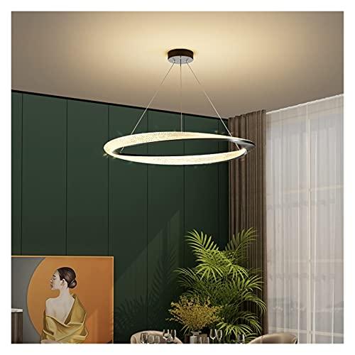FIRMLEILEI candelabro Nuevas lámparas Colgantes LED Moderno para Mesa de Comedor Sala de Estar Cocina Loft Office Shop Negro Colgando Araña Iluminación Interior Decoración hogareña