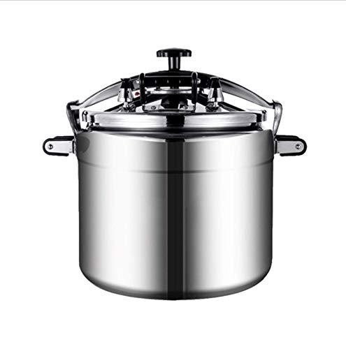 Large-capacity pressure cooker commercial pressure cooker safety explosion-proof pressure cooker home gas gas special pot home multi-function kitchenware can be used for kitchen hotel supplies 18L, 25