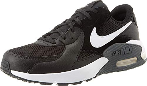 Nike Herren Air Max Excee Sneaker, Black/White-Dark Grey, 42 EU