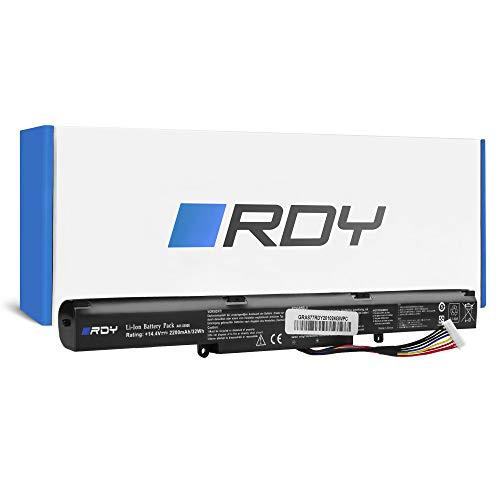 RDY Batería A41-X550E para ASUS R510 R510D R510DP X550D X550DP R752L R752LB R752LAV F550D F750L F751L R751J R751JA R751JB R751JK R751L R751LN R752LJC X450JF X450JN X750J X751L