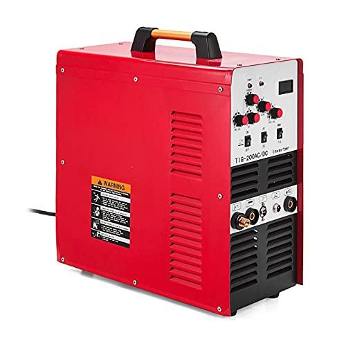 YXZQ Maquina de soldar electrica Nuevo inversor de Onda Cuadrada de TIG/Stick AC/DC Aluminio 200 AMP Soldador IGBT Máquina de Soldadura de pulsos Herramientas de Soldadura