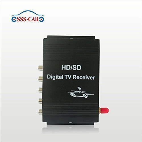 Car ATSC MPEG 4 digital TV tuner america TV receiver box