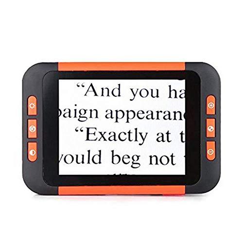 Vergrootglas lezen Kleine draagbare HD Digital Vergrootglas met Light 8x 16x 32x, High Power Electronic Vision Equipment, Kinderen Studenten Volwassen Bijziendheid Amblyopia Color Zwakke opladen Visua