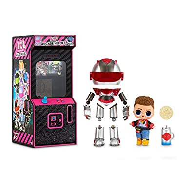 L.O.L. Surprise! Boys Arcade Heroes – Action Figure Doll with 15 Surprises from MGA Entertainment