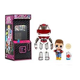 LOL Surprise Garçons Héros d'Arcade – Figurine d'action – Avec 15 surprises, costumes de héros 6 pièces & accessoires