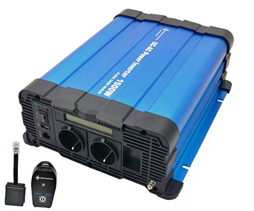 solartronics Spannungswandler FS1500D 12V 1500/3000 Watt Reiner...