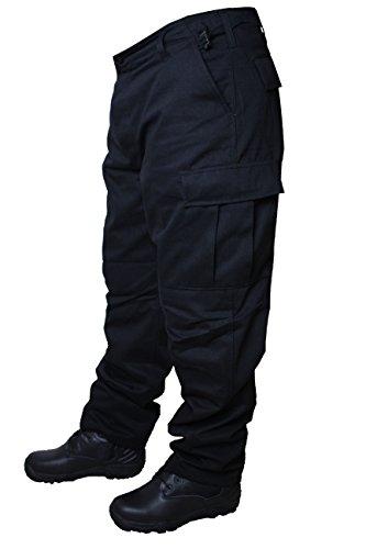 Matthias Kranz Army Cargo Hose BDU Ranger Security schwarz Armee Feldhose BW (XL)