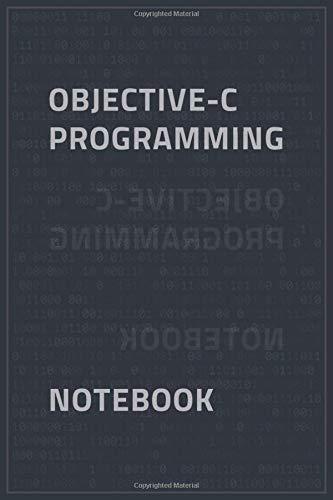 [画像:Objective-C Programming Notebook: Programming Notebook / Ruled Journal Gift For Objective-C Programmers, 120 Blank Pages, Matte Cover.]