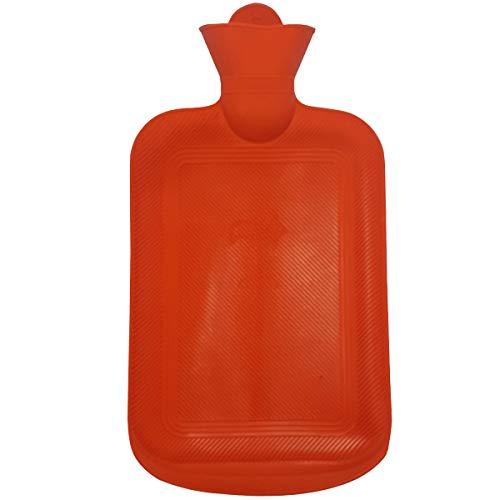 Bolsa De Água Quente 2 Litros Compressa Térmica Borracha