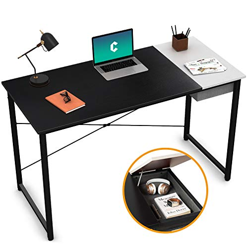 Cubiker Computer Desk 47' Home Office Writing Study Laptop Table,...