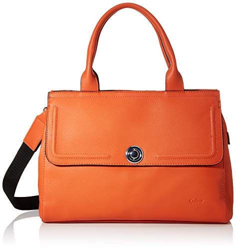 Gabor Shopper Damen, Orange, Isabel, 35x14,5x25 cm, Handtasche, Umhängetasche