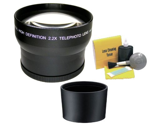 2.2X High Definition Super Telephoto Lens. (Includes Lens/Filter Adapter) Fits The Canon PowerShot SX530 HS