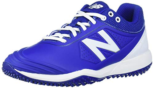 New Balance Women's Fuse V2 Turf Softball Shoe, Royal/White, 6.5 Wide