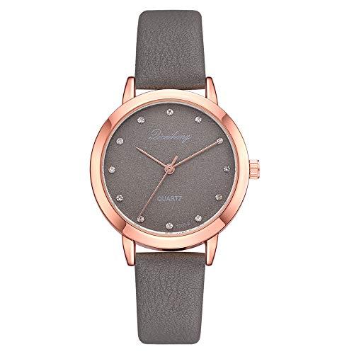 Darringls_Reloj Dicaihong XR2820,Reloj de Cuarzo de aleación analógico Casual para Mujer Hombre Unisex Retro Relojes para Unisex Reloj de Pulsera Elegante
