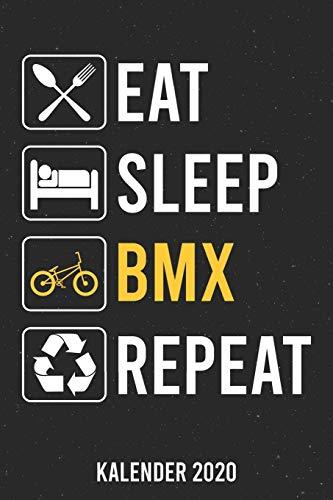 Kalender 2020: Eat Sleep BMX A5 Kalender Planer für ein erfolgreiches Jahr - 110 Seiten