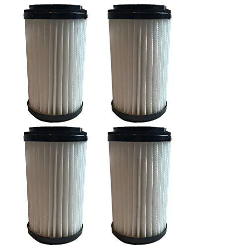 Crucial Vacuum Replacement Vacuum Filter – Compatible Kenmore Part # 82720, 82912 – Fits Kenmore DCF-1, DCF-2, Panasonic MC-V415-00, MC-V5454-02, V7700 Vacuum Models – Bulk (4 Pack)