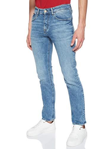 Tommy Hilfiger Herren ORIGINAL STRAIGHT RYAN DLSMD Straight Jeans, Blau (Dallas Mid Bl Com 911), W30/L32