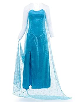 Artemisia Designs Princess Elsa from Frozen Inspired Gown Fantasy Cosplay  XL  Turquoise
